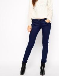 Суперстретчевые джинсы скинни Esprit - Темно-синий цвет