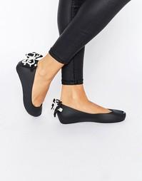 Туфли на плоской подошве Melissa Ultragirl Minnie Mouse - Черный