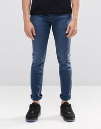 Облегающие джинсы Pepe Nickel F46 - Petrol blue