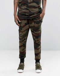 Hand Of God Camo Joggers - Хаки