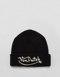 Шапка-бини Von Dutch - Черный