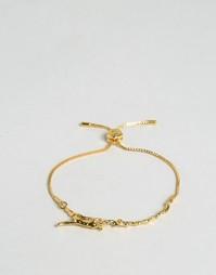 Браслет с маленькой лисицей Bill Skinner - Золотой