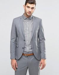 Jack & Jones Premium Skinny Suit Jacket in Grey - Светло-серый