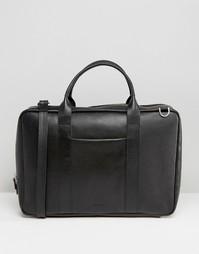 Кожаная сумка Royal RepubliQ Ground Day - Черный