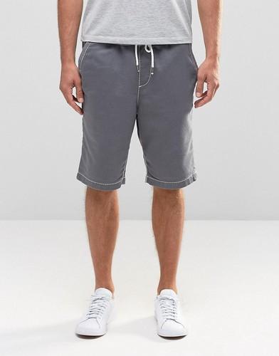 Трикотажные шорты с логотипом True Religion - 09 pavement