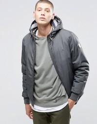 Серая куртка с капюшоном Element Dulcey - Серый