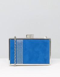 Клатч-футляр Lotus - Blue microfibre