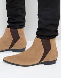 Замшевые ботинки челси Religion - Рыжий