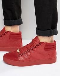 Высокие кроссовки Glorious Gangsta Paris - Красный