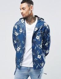 Спортивная куртка с цветочным принтом Heros Heroine - Серый