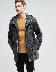 Камуфляжная куртка Parka London Soren - Зеленый