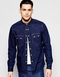 Рубашка Lee 101 Rider - Темно-синий