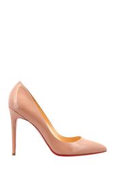 Туфли из лакированной кожи Pigalle 100 Patent Calf Christian Louboutin