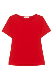 Однотонная футболка Stefanel