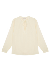 Хлопковая блузка Stefanel