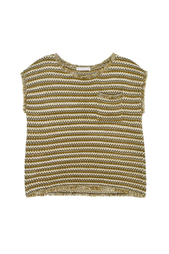 Хлопковая футболка Stefanel