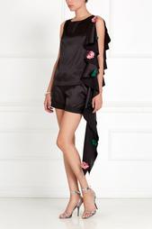 Асимметричная блузка Anna Stevar