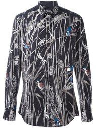 рубашка с принтом птиц Dolce & Gabbana