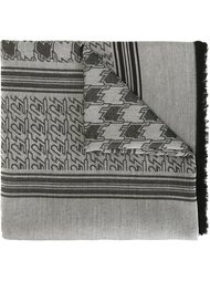 шарф в ломаную клетку Kenzo