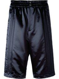 атласные шорты Alexander Wang