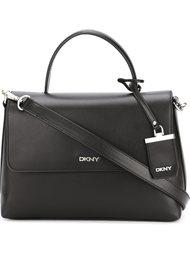 сумка-тоут с откидным клапаном DKNY