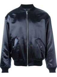 атласная куртка-бомбер Alexander Wang
