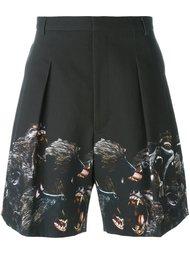 шорты с принтом павиана Givenchy