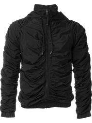 куртка с оборками на молнии  Nasir Mazhar
