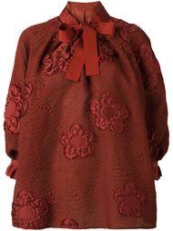 блузка с цветочным узором  Fendi
