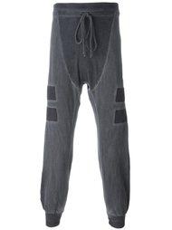 спортивные брюки с контрастными полосками   Lost & Found Rooms