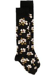 жаккардовые носки с цветочным узором Marni