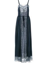 платье макси поясом на талии Chloé