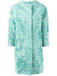 текстурированное пальто Liska