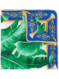 платок с тропическим узором Dolce & Gabbana