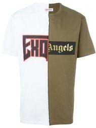 контрастная футболка  Palm Angels