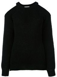 свитер с прорезными деталями на плечах Iro