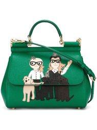 сумка-тоут 'Sicily' с аппликацией Dolce & Gabbana