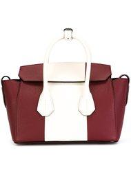 сумка через плечо в стиле колор-блок  Bally