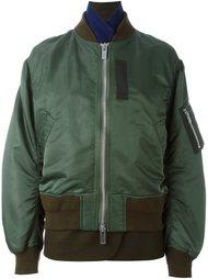 многослойная куртка-бомбер  Sacai