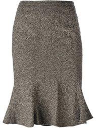 юбка с баской  Dolce & Gabbana Vintage
