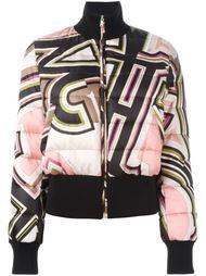 куртка-бомбер с принтом Emilio Pucci