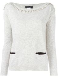 декорированный свитер  Twin-Set