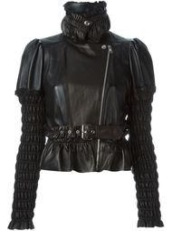 куртка с оборками  Alexander McQueen