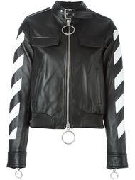 куртка с контрастными полосками   Off-White