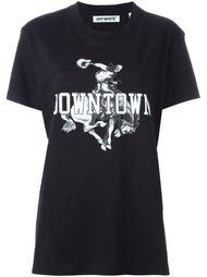 футболка 'Downtown'  Off-White