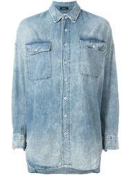 рубашка с нагрудными карманами R13