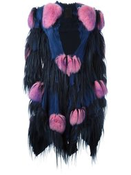 мохеровое пальто  Liska