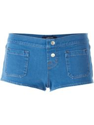 джинсовые микро-шорты J Brand
