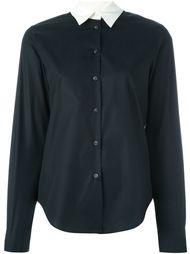 рубашка с контрастным воротником Mm6 Maison Margiela