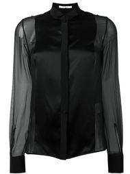 прозрачная рубашка  Givenchy